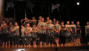 Meadowbrook pupils in Oliver performance