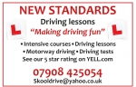 New Standards Driving Lessons